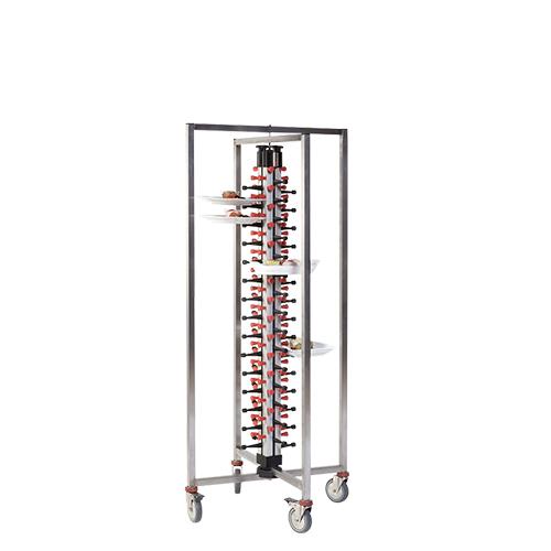 PlateMate Tellerwagen 60 Teller klappbar