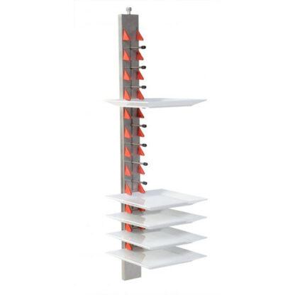 PlateMate Wandmodell 12 Teller Edelstahl